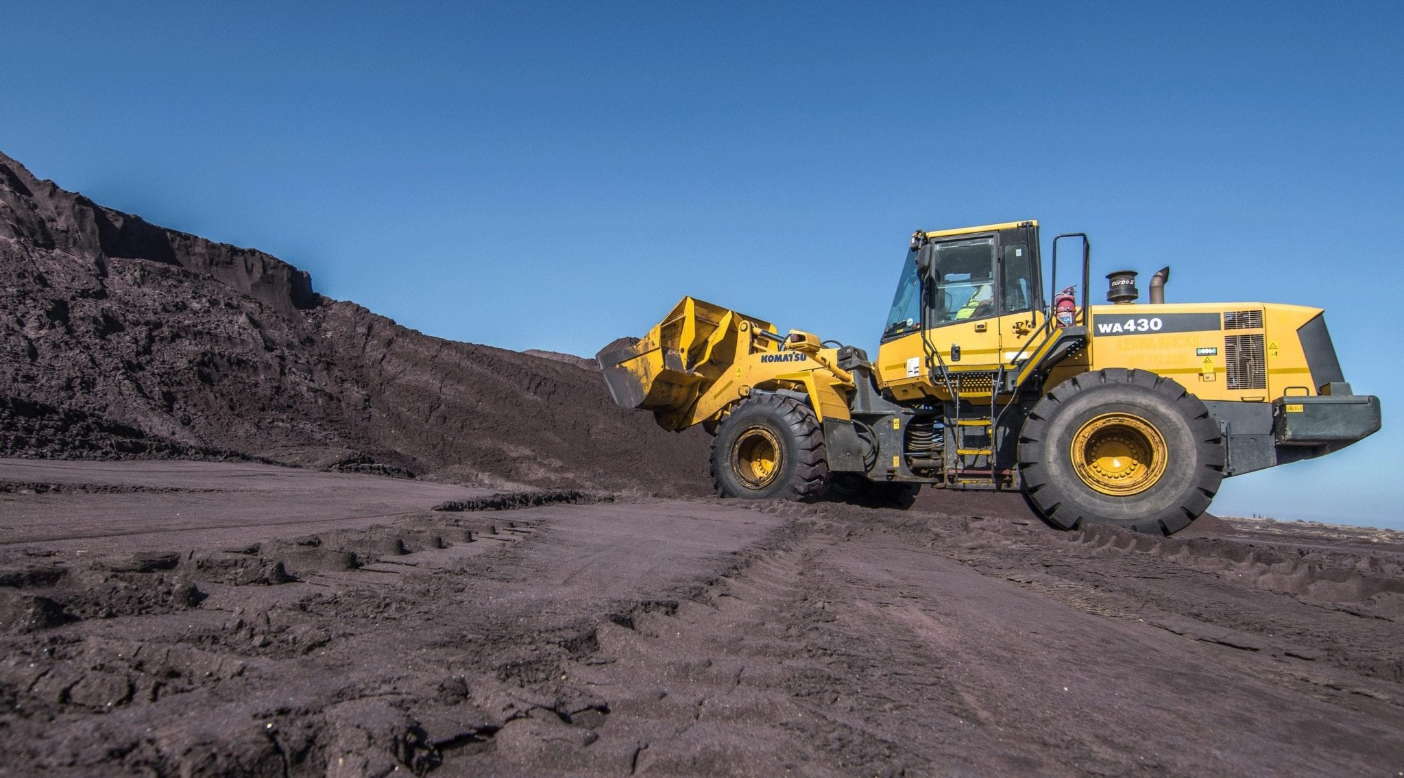 Mine Site Construction Services Loader