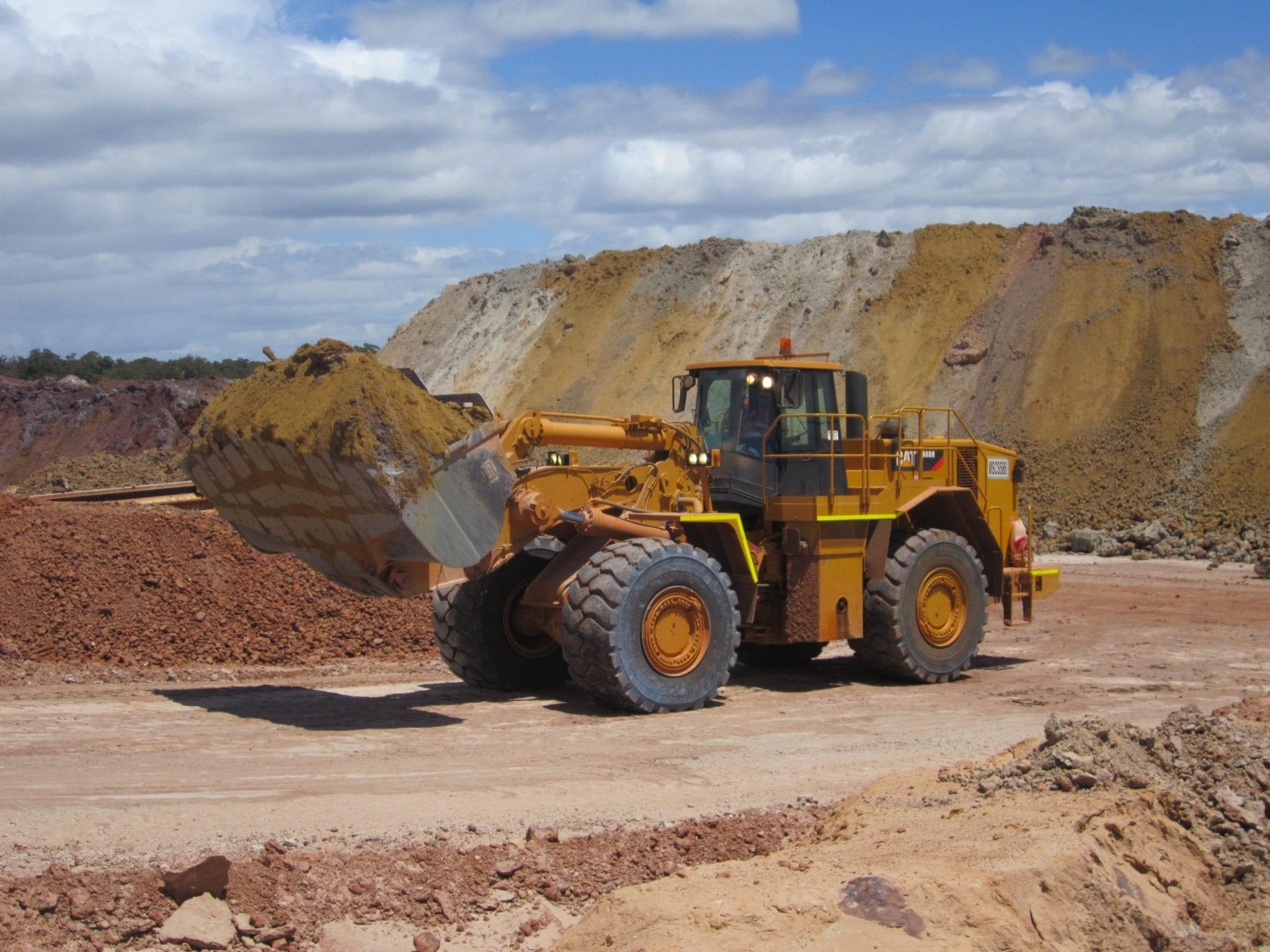 Loader Capability Mine Site Construction Services WA Western Australia
